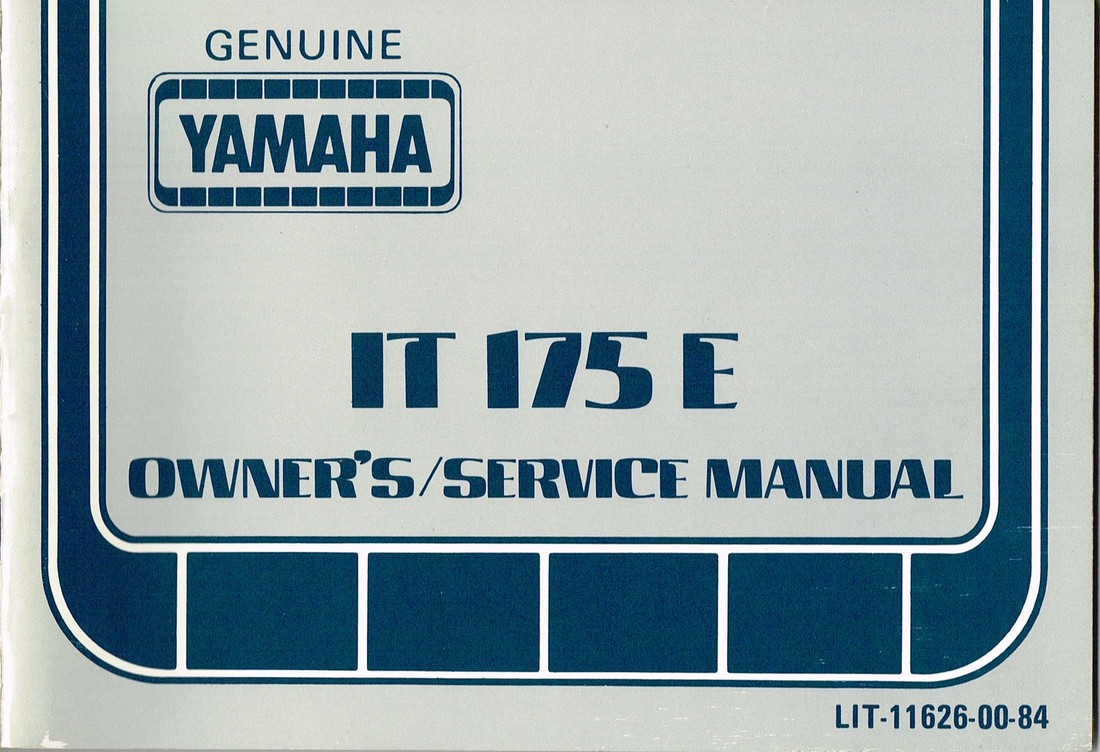 It175 Wiring Diagram 1981 Yamaha Xj650 Manuals Daves Bikes